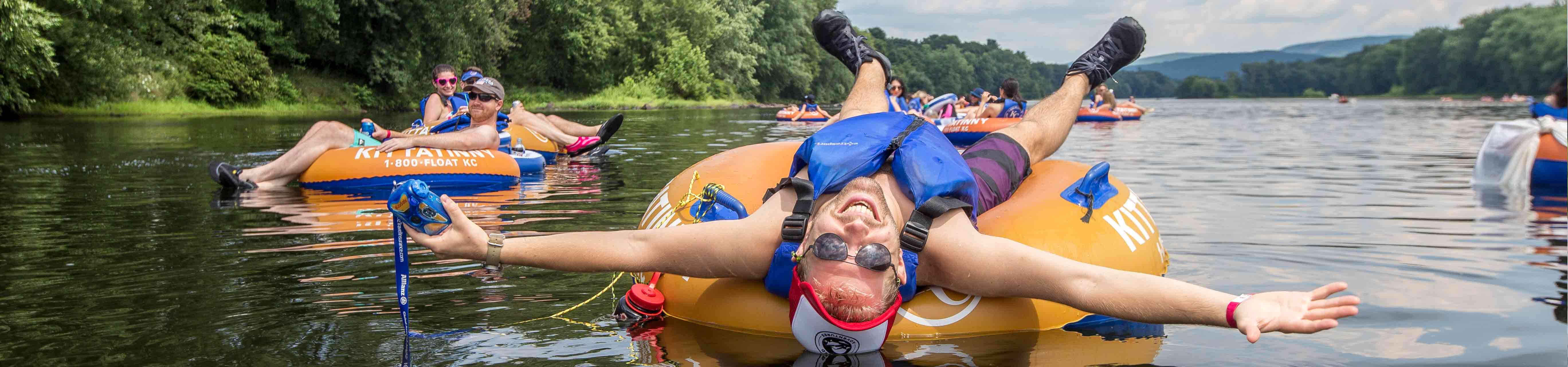 River Tubing & Brewery from Boston