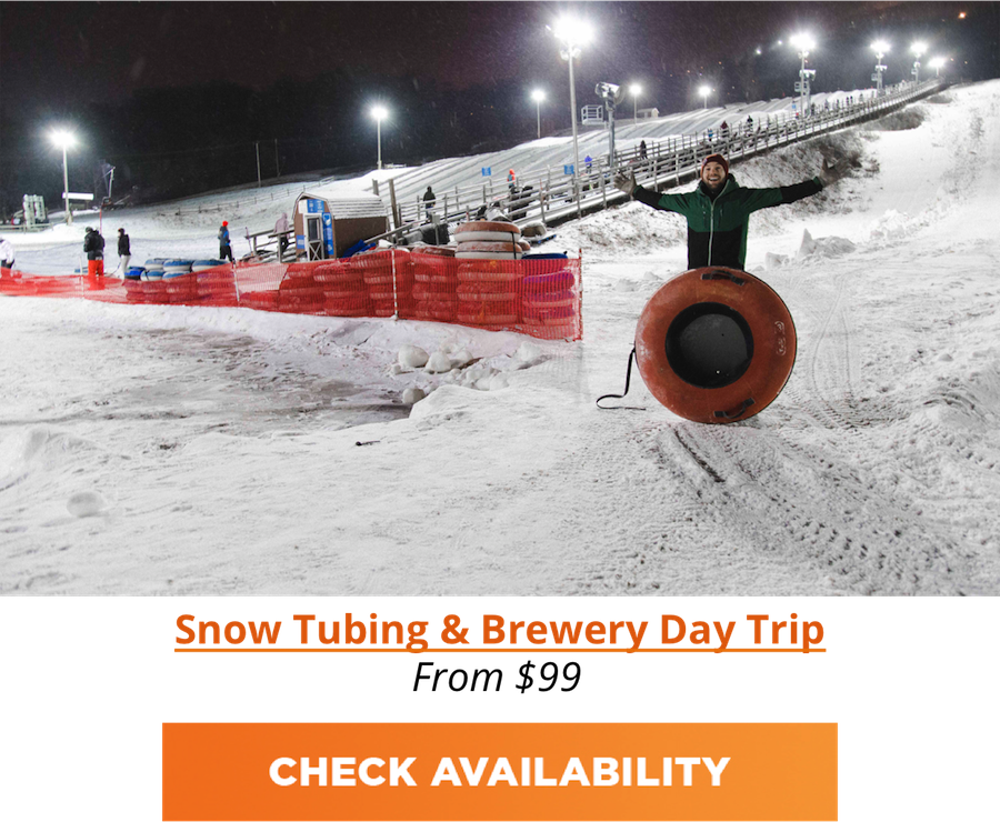 NYC Snow Tubing & Brewery Trip